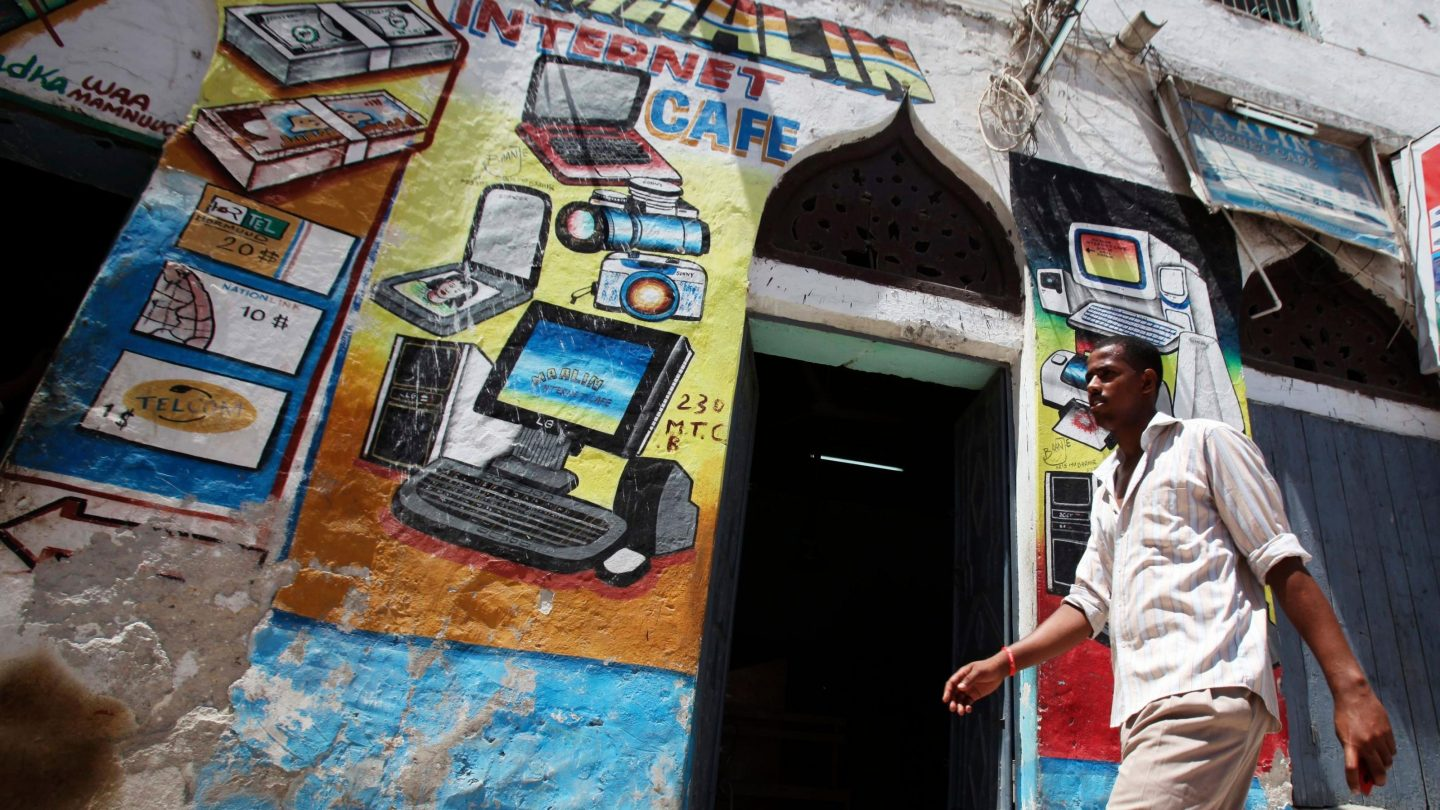 The cost of internet access dropped everywhere in the world last year—except in Africa